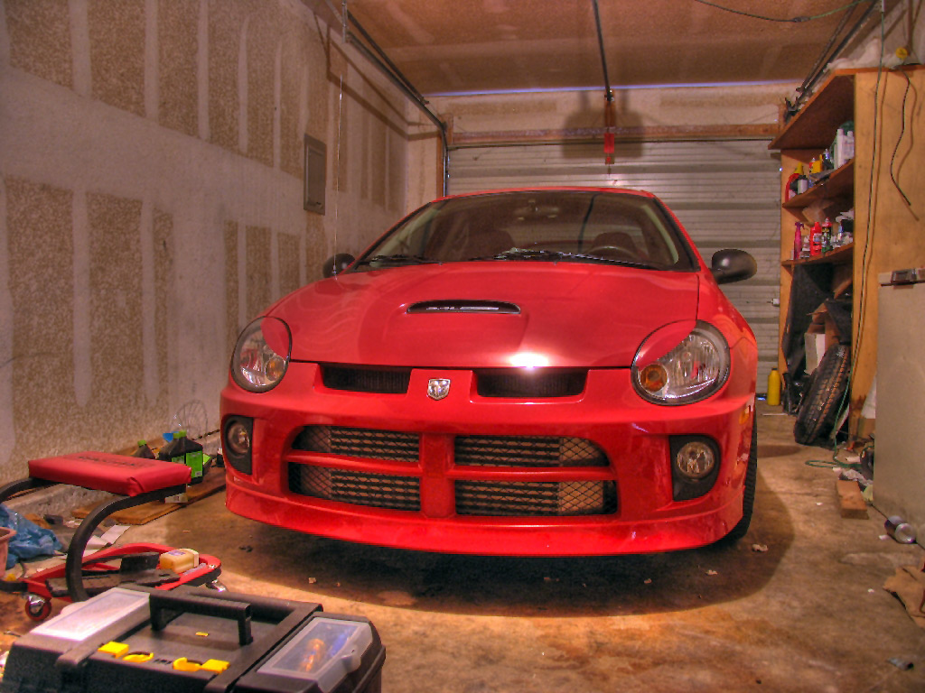 Lucys red srt4, finally gives into some eyelids... - Dodge SRT Forum